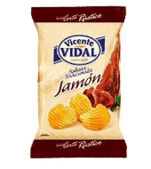 Vicente Vidal Papas sabor jamón 135 g