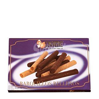 E.moreno Barquillos de galleto rellenos de distintas crema. 115 g
