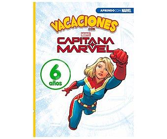 Marvel Vacaciones con Capitana 6 años, vv. aa. género: cuadernos de vacaciones. editorial marvel.