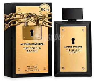 ANTONIO BANDERAS The Golden Secret eau de toilette natural masculina  spray 100 ml