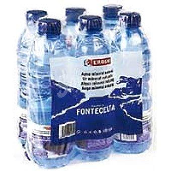 Eroski Agua mineral Pack 6x50 cl