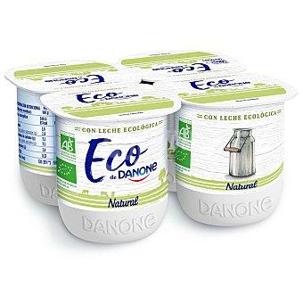 Danone Yogur natural ecológico Danone Pack de 4 unidades de 125 g