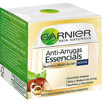 Skin Naturals Garnier Crema de noche anti-arrugas nutritiva y vitaminada Tarro 50 ml