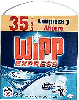 WIPP EXPRESS DETERGENTE LAVADORA POLVO AROMA VERNEL PAQUETE 2275 g - 35 lavados
