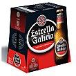 Cerveza especial Pack 6 botellas 20 cl Estrella Galicia