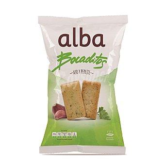 ALBA Bocaditos de pan con ajo y perejil Bolsa 120 g