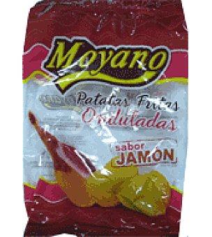 Moyano Patatas frita onduladas jamon 170 g