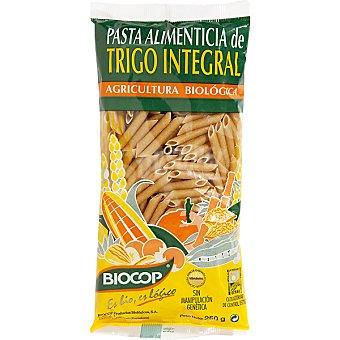 BIOCOP macarrones biológicos de trigo integral envase 250 g