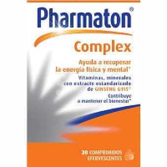 PHARMATON Complex comprimidos Caja 20 unid