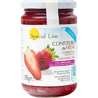 SPECIAL LINE Light confitura de fresa envase 295 g