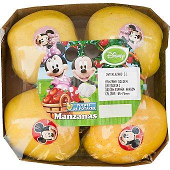 DISNEY2 Manzana golden bandeja 630 g (contiene juguete sorpresa) Bandeja 630 g