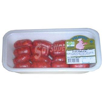 PELAYITO Chorizo de pincho picante peso aproximado Bandeja 400 g
