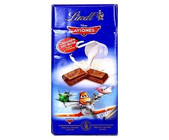 Lindt Chocolate con leche Aviones Disney 100 g