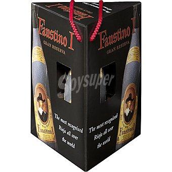 Faustino I Vino tinto Gran Reserva D.O. Rioja estuche 2 botellas 75 cl + decantador Estuche 2 botellas 75 cl