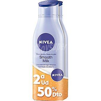 Nivea Crema corporal triple acción (pack precio especial 2ª unidad al 50%) Pack 2 frasco 400 ml