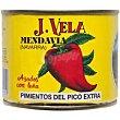 Pimiento de pico entero extra Lata 150 g J. Vela