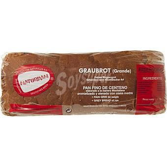 KORNPAN pan gris elaborado con harina de centeno unidad 1 kg