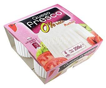 Auchan Queso fresco 0% 62,5 gramos