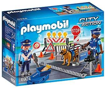 Playmobil Escenario de juego Control de policía, City Action 6924 playmobil