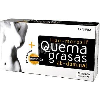 NC Lipo Morosil Forte quemagrasas abdominal con Cla envase 30 capsulas