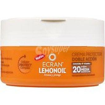 Ecran Lemonoil protector solar crema tarro fp20 200ml