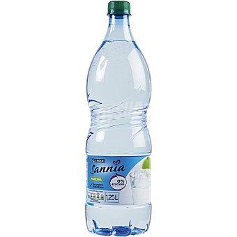 Eroski Sannia Agua sabor manzana 1,25l