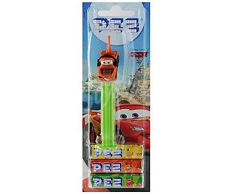 PEZ Caramelos de sabores más muñeco pez de Cars 25,5 gramos