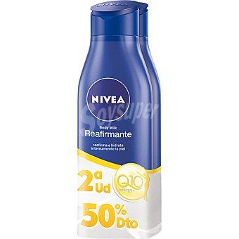 NIVEA loción corporal reafirmante Q10 para piel seca pack 2 frasco 400 ml
