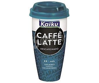 Kaiku Caffé Latte Descafeinado Vaso 230 ml