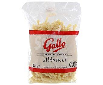 Gallo Pasta alimenticia de sémola de trigo duro abbracci gormen 500 gramos