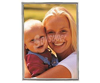 Hofmann Portafotos metálico con marco de perfil fino para fotografias de tamaño 10x15 1 Unidad