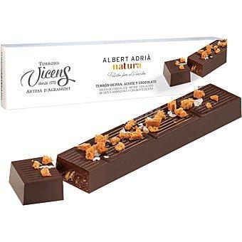 Vicens Albert Adría Natura Turrón de pan aceite y chocolate estuche 250 g estuche 250 g