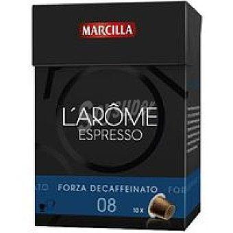 L'Arôme Espresso Marcilla Capsulas Dec Forza 70u