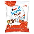 Huevos de chocolate rellenos de leche y avellanas  bolsa 125 g KINDER Schoko-Bons