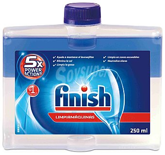 Finish Limpiamáquinas para Lavavajillas 250 ml