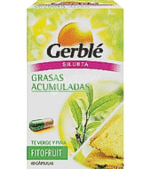 Gerble Cápsulas de té verde y piña Fitofruit 60 ud