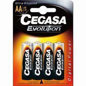 LR06 CEGASA Pila evolution Pack 4 unid
