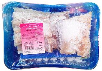 Unión Martín Cherne seco salado trozo con espina (preparado: troceado en 4 partes) Unidad 600 g peso aprox.