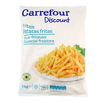 Carrefour Discount Patatas fritas Bolsa de 1 kg