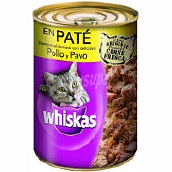 Whiskas Alimento con pollo-pavo Lata 400 g
