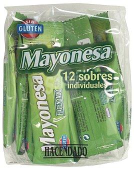 HACENDADO MAYONESA SOBRES PACK 12