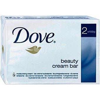 DOVE pastilla de jabón hidratante ds. 100 g pack 2 un