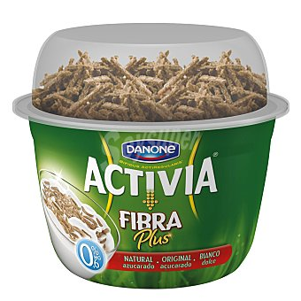 Activia Danone Yogur Toppers fibra plus azucarado 0,6%mg 170g