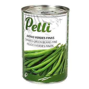 Pelli Judías verdes al natural finas 210 g