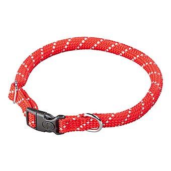 Arppe Collar para perros Nylon Redondo Reflectante Rojo 45-49 cm