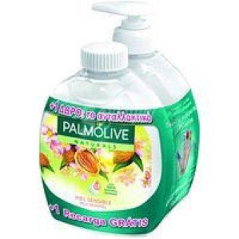 Palmolive Jabón líquidos de almendras Pack 2x300 ml