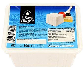Flor de Burgos Queso fresco de leche de vaca 500 gramos