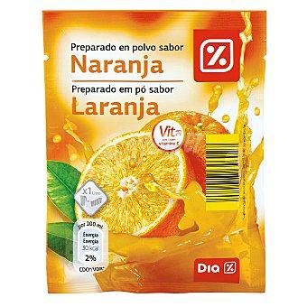 DIA Refresco en polvo sabor naranja Sobre 40 gr