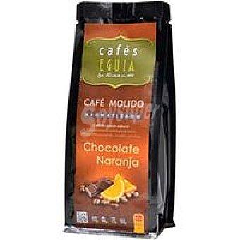 CAFÉS EGUIA Café molido chocolate naranja 250 grs