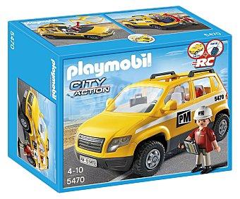 PLAYMOBIL Figura más Coche de supervisión, modelo 5470 City Action 1 unidad